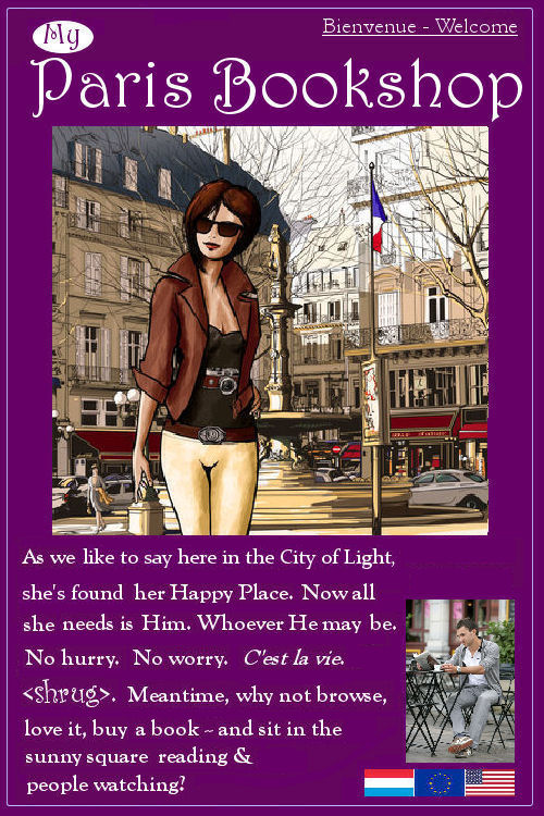My Paris Bookshop - books and all things romantic Paris for you to browse and love (and buy if you wish)